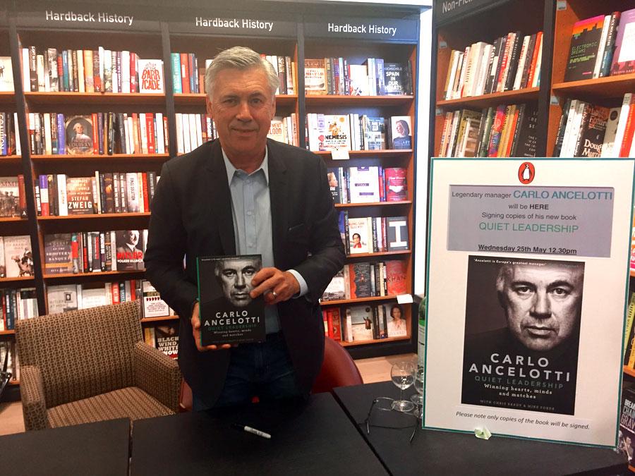Carlo Ancelotti Presenta Su Nuevo Libro: 'Quiet Leadership'