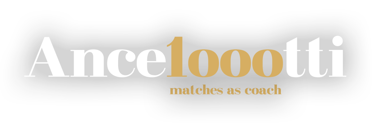 Ancelotti 1000 matches as manager