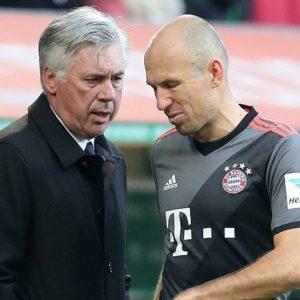 Ancelotti & Robben