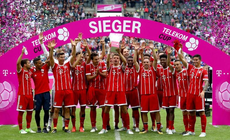Ancelotti Conquista La Telekom Cup Con El Bayern