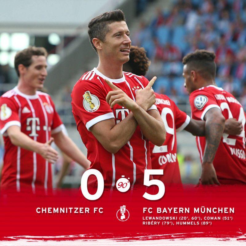 Una Goleada Para El Estreno En La DFB Pokal