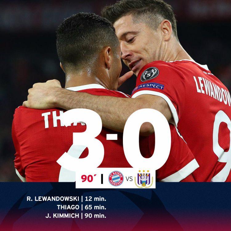 El Bayern Arranca La Champions Con Goleada