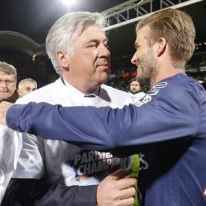 Ancelotti & Beckham