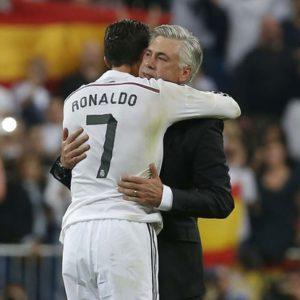Ancelotti & Cristiano Ronaldo