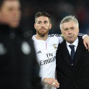 Ancelotti & Sergio Ramos