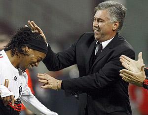 Ancelotti & Ronaldinho
