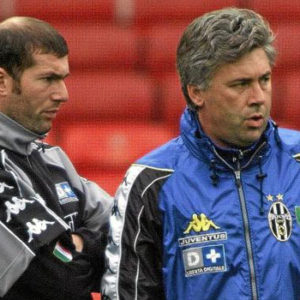 Ancelotti & Zidane (as Player)