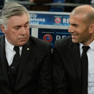 Ancelotti & Zidane (as Manager)