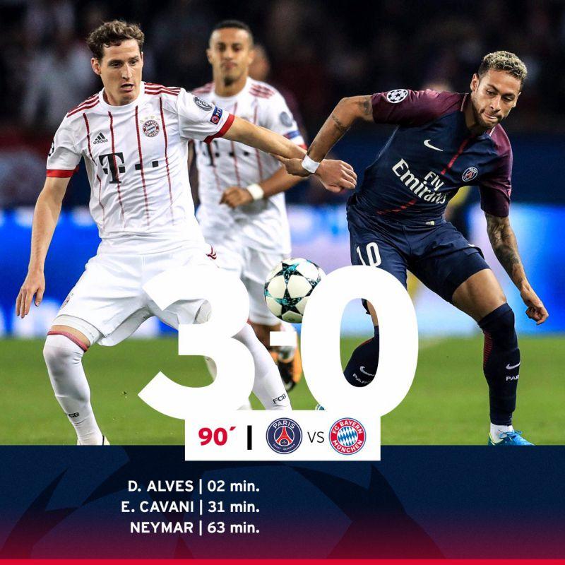 El Bayern no rentabiliza su dominio en Paris