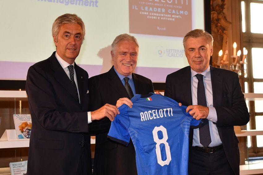 Ancelotti riceve il Premio Nazionale della Letteratura del Calcio Antonio Ghirelli