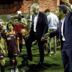 """Ancelotti Lidera Una Sesión Muy Especial En El """"Peace And Friendship"""" De Jerusalén"""