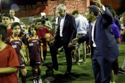 """Ancelotti Leitete Eine Besondere Trainingssession Beim """"Peace And Friendship"""" In Jerusalem"""